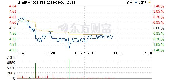森源电气(002358)