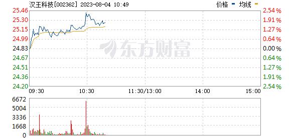 汉王科技(002362)
