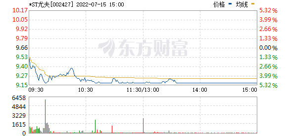 尤夫股份(002427)