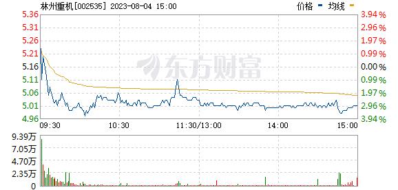 林州重机(002535)