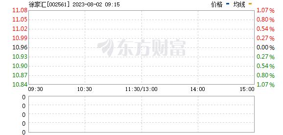 徐家汇(002561)