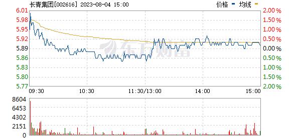长青集团(002616)