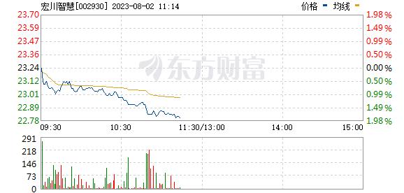 宏川智慧(002930)