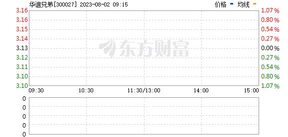 华谊兄弟(300027)