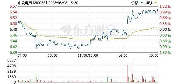 中能电气(300062)