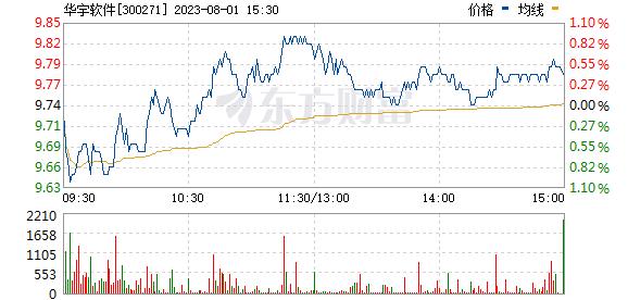 华宇软件(300271)