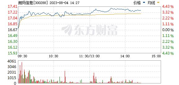 朗玛信息(300288)