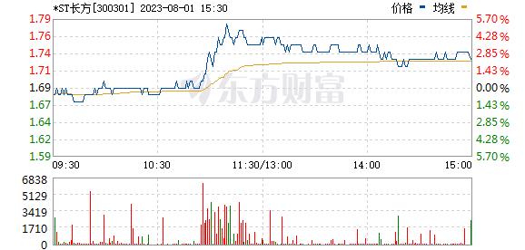 长方集团(300301)