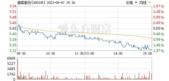 迪森股份(300335)