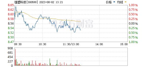 雄塑科技(300599)