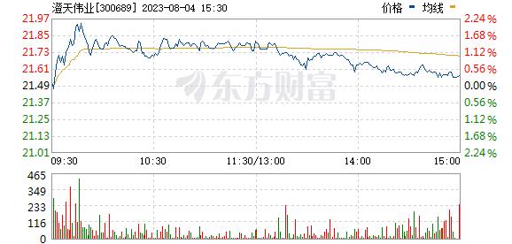澄天伟业(300689)