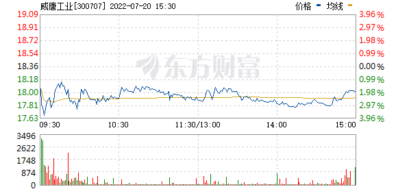 威唐工业(300707)