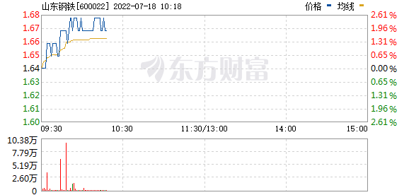 山东钢铁(600022)