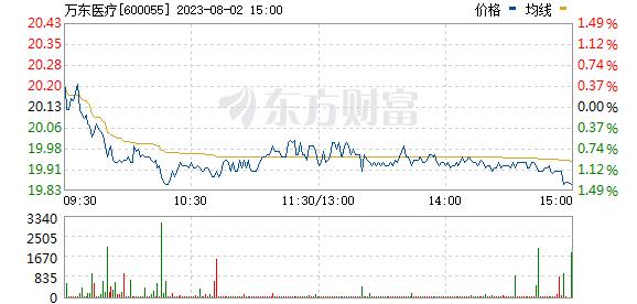 万东医疗(600055)