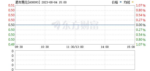 易见股份(600093)
