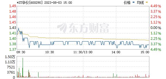 华仪电气(600290)