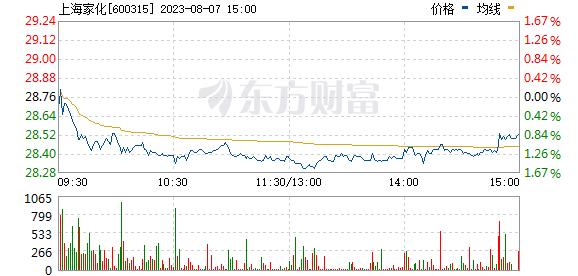 上海家化(600315)