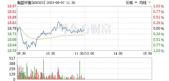 瀚蓝环境(600323)