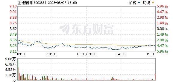 金地集团(600383)