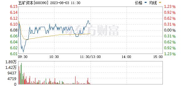 五矿资本(600390)