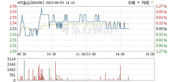 金山股份(600396)