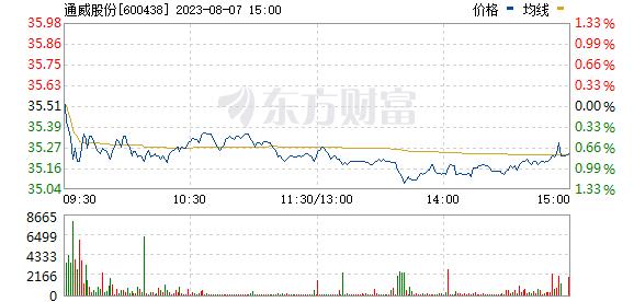 通威股份(600438)