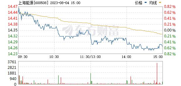 上海能源(600508)