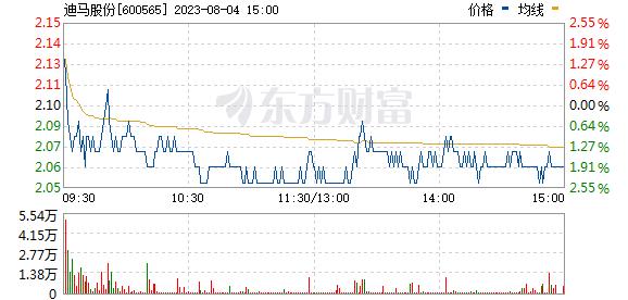 迪马股份(600565)