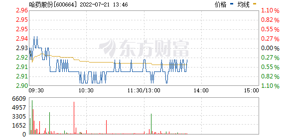 哈药股份(600664)
