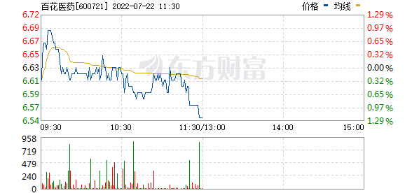 百花村(600721)