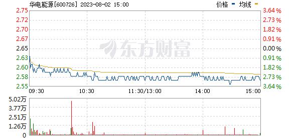 华电能源(600726)