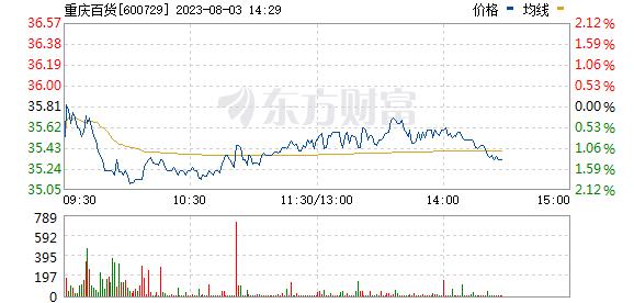 重庆百货(600729)