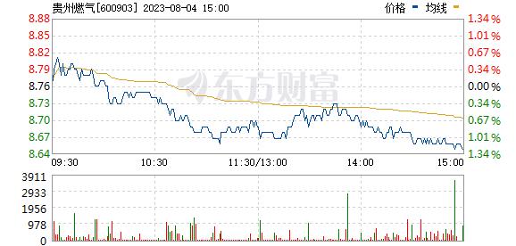 贵州燃气(600903)