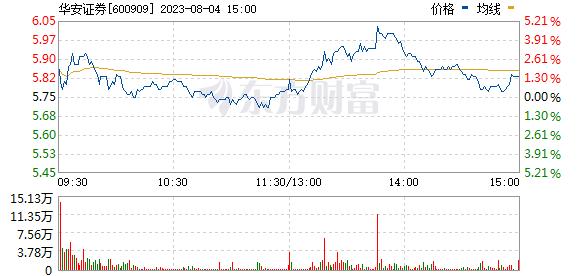 华安证券(600909)