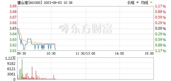 唐山港(601000)