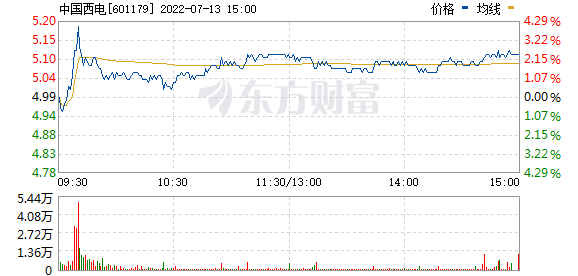 中国西电(601179)