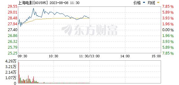 上海电影(601595)