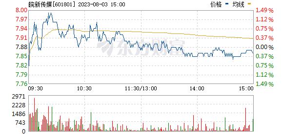 皖新传媒(601801)