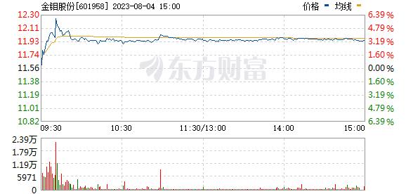 金钼股份(601958)