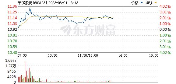 翠微股份(603123)