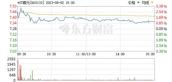 碳元科技(603133)
