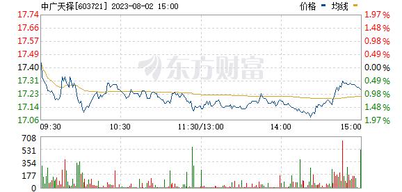 中广天择(603721)
