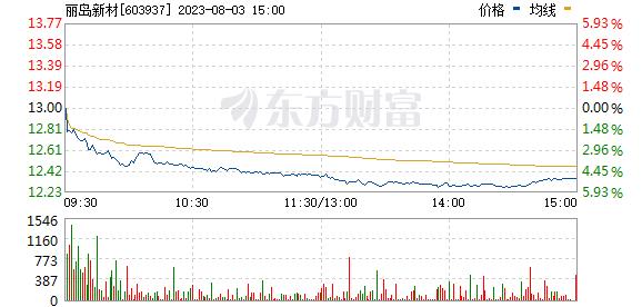 丽岛新材(603937)