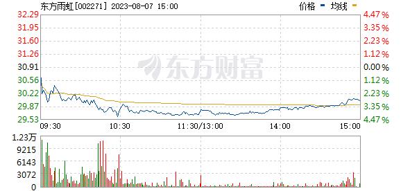 分时图 002271_2